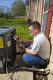 AC REPAIRMAN Royalty Free Stock Image