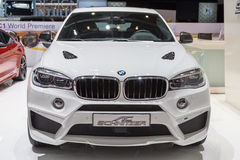 2015 AC Schnitzer BMW X6 (F15). Presented on the 85th International Geneva Motor Show Royalty Free Stock Image