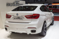 2015 AC Schnitzer BMW X6 (F15). Presented on the 85th International Geneva Motor Show Royalty Free Stock Photo