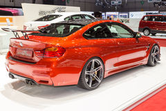 2015 AC Schnitzer BMW M4 (F82). Presented on the 85th International Geneva Motor Show Royalty Free Stock Photos