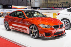 2015 AC Schnitzer BMW M4 (F82). Presented the 85th International Geneva Motor Show Stock Images