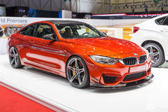 2015 AC Schnitzer BMW M4 (F82). Presented on the 85th International Geneva Motor Show Stock Photos
