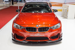 2015 AC Schnitzer BMW M4 (F82). Presented on the 85th International Geneva Motor Show Royalty Free Stock Photography