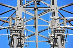AC Substation High Voltage Royalty Free Stock Photo
