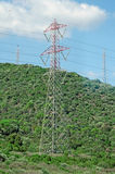 AC transmission towers. Stock Photography