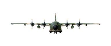 ac130飞机军人 免版税库存照片