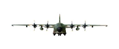 AC130 Military airplane Royalty Free Stock Photos