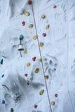 Acabamiento Belces en la pared de la escalada fotografía de archivo libre de regalías