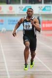 Acabamiento Joel Fearon - atletismo Imagen de archivo