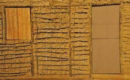 Acacia-e-Daub i particolari della costruzione Fotografia Stock Libera da Diritti