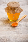Acacia honey Royalty Free Stock Images