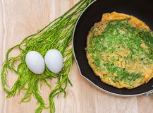 Acacia Omelette Royalty Free Stock Photography