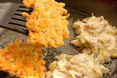 Acacia pancakes Stock Photo