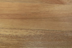 Acacia wood cutting board Royalty Free Stock Image