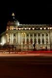 Académie dans la nuit Photographie stock libre de droits