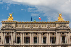 Académie de musique du Québec. The Paris Opera is the primary opera company of France. It was founded in 1669 by Louis XIV as the Académie d`Opéra, and Royalty Free Stock Photography