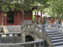 Académie de Songyang dans la ville de Dengfeng, Chine centrale images stock
