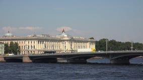Académie de St Petersburg d'art 4K banque de vidéos