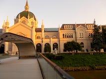 Académie des beaux-arts, Sarajevo images libres de droits