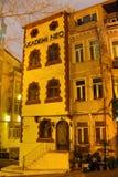 Académie Tepebasi Istanbul de bâtiment historique Photos stock