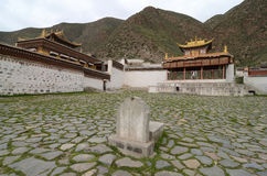 Académie tibétaine, Labrang Lamasery Photographie stock