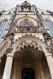 Acade der Kathedrale von St Peter und von Paul in Brno Lizenzfreies Stockfoto