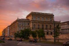 Academia das Ciências húngara Foto de Stock Royalty Free
