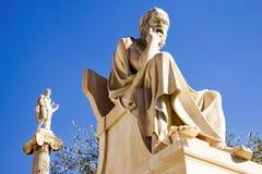 A academia de Atenas em Atenas, Grécia foto de stock royalty free