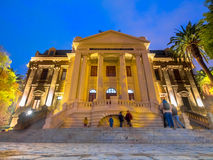 Academia de Bellas Artes. Academy of Bellas Artes - Santiago de Chile - America Royalty Free Stock Photo