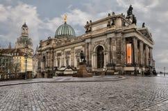 Academia de Dresden de bellas arte Imágenes de archivo libres de regalías