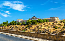 Academia de Infanteria, a military institution in Toledo, Spain Royalty Free Stock Images