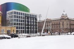Academia de música em Zagreb Fotos de Stock