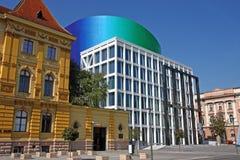 Academia de música, universidad de Zagreb, Croacia Fotos de archivo