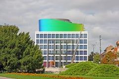 Academia de música, universidad de Zagreb, Croacia Imágenes de archivo libres de regalías