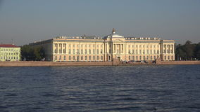Academia de St Petersburg de arte 4K almacen de video