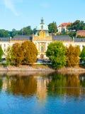 Academia de Straka, el asiento del gobierno de la República Checa, Praga Foto de archivo