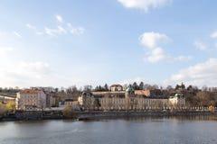 Academia de Straka en Praga Fotos de archivo libres de regalías