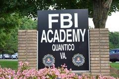 Academia del entrenamiento del F.B.I. imagen de archivo libre de regalías