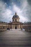 Academia francesa em Paris, França Foto de Stock Royalty Free