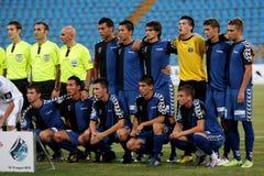 Academia Hagi football team Stock Photography