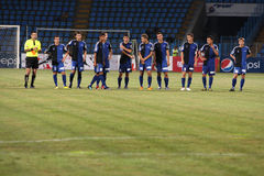 Academia Hagi football team Stock Images