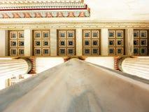 Academia nacional de Greece, telhado Imagem de Stock Royalty Free