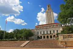 Academic building dome of University of Texas Royalty Free Stock Photography