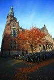 Academic building of University of Groningen. The image of the old academic building of the University of Groningen in Netherlands Stock Photography