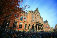 Academic building of University of Groningen Stock Photography