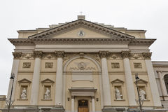 Academic Church of St Anne in Warsaw, Poland Stock Photography
