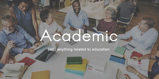 Academic College Degree Education Learning Concept Royalty Free Stock Photography