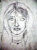 Academic de People.Drawing Fotografia de Stock Royalty Free