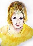 Academic de People.Drawing Imagen de archivo libre de regalías