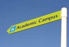 Academic Direction Royalty Free Stock Image